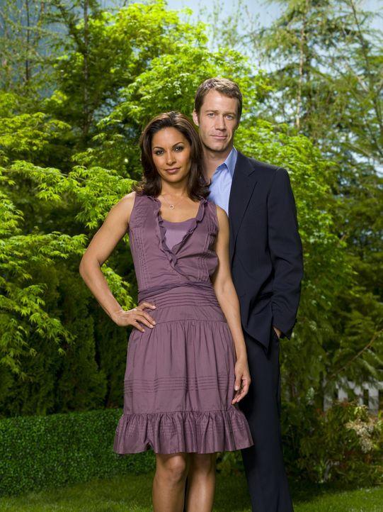(2. Staffel) - Finden Marshall Jack Carter (Colin Ferguson, r.) und Allison (Salli Richardson, l.) zueinander? - Bildquelle: Universal Television