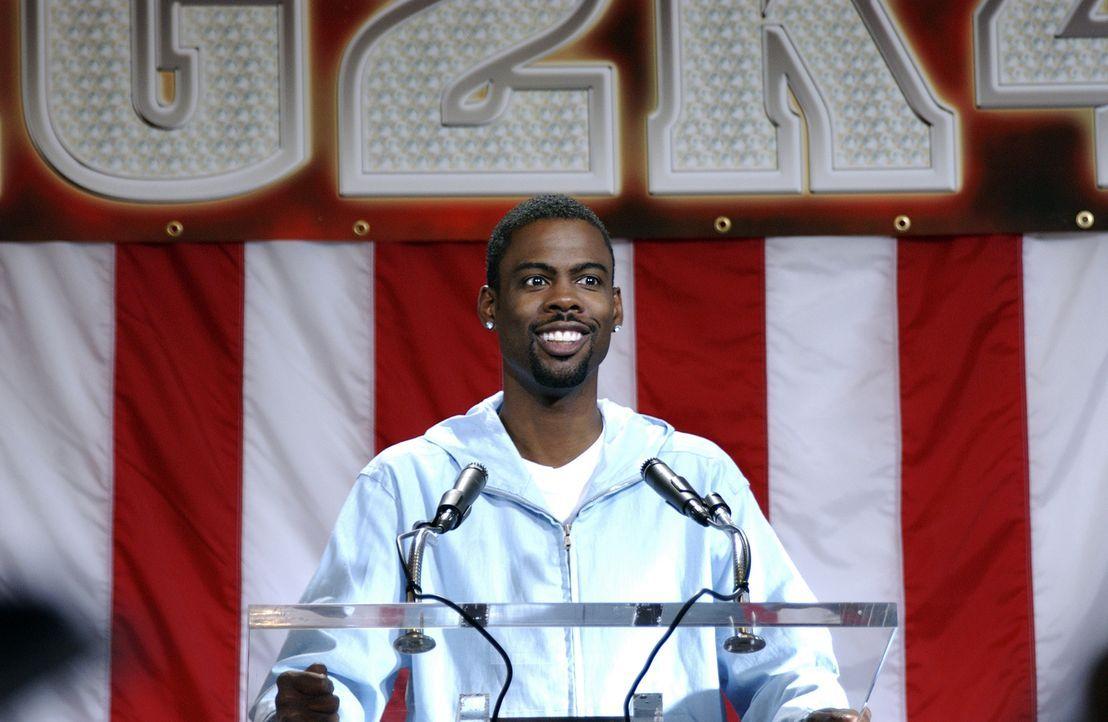 Praktisch über Nacht wird der unbekannte Stadtrat Mays Gilliam (Chris Rock) in den Rang des ersten und durchaus aussichtsreichen schwarzen Kandidate... - Bildquelle: DreamWorks SKG