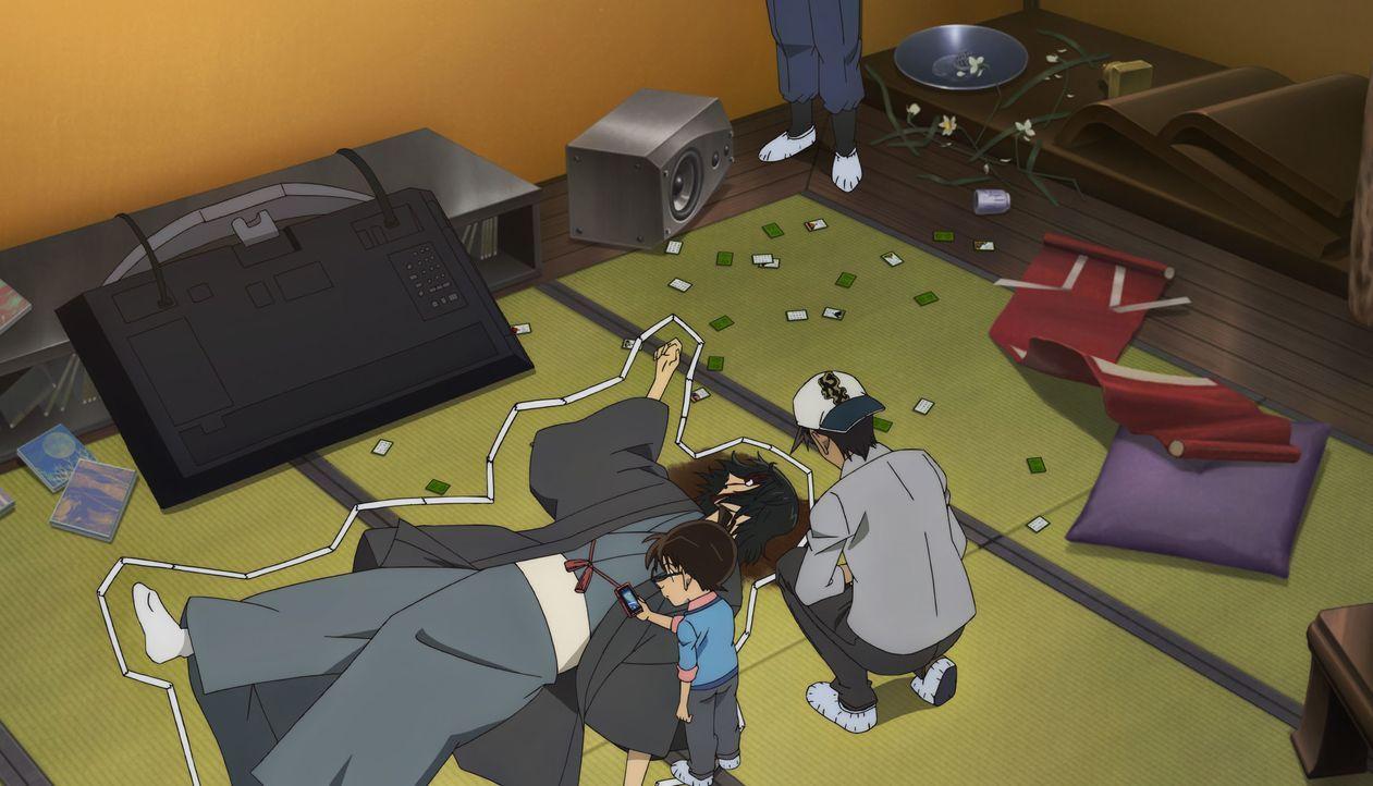 (v.l.n.r.) Detective Conan; Toshiya Yajima; Heiji Hattori - Bildquelle: 2017 GOSHO AOYAMA/DETECTIVE CONAN COMMITTEE All Rights Reserved