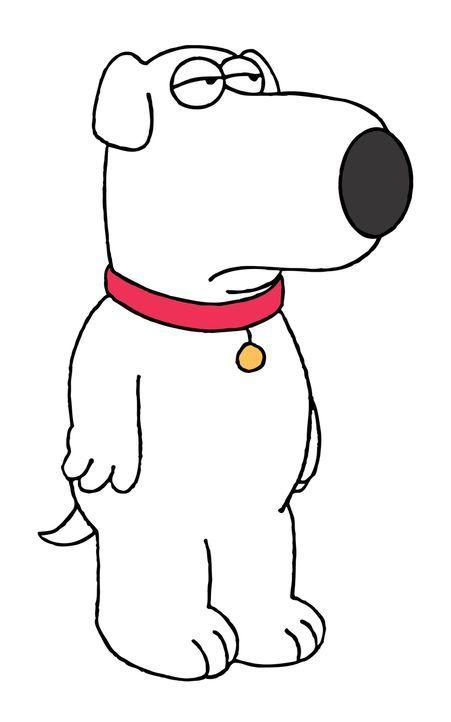 (5. Staffel) - Brian, der Hund: Er ist unbestritten das eloquenteste Mitglied des Griffin-Haushaltes und der einzige, der im täglichen Durcheinander... - Bildquelle: TM +   2005 Twentieth Century Fox Film Corporation. All Rights Reserved.