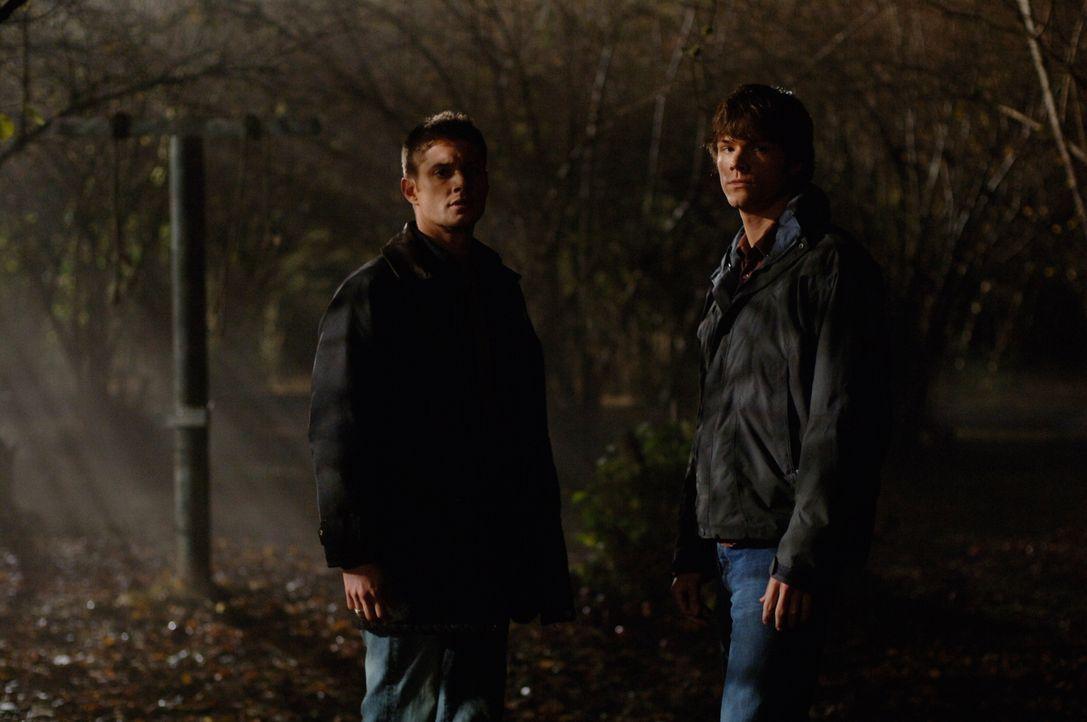 Versuchen ein Pärchen vor dem Tod zu retten: Sam (Jared Padalecki, r.) und Dean (Jensen Ackles, l.) ... - Bildquelle: Warner Bros. Television