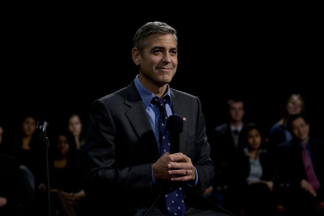 Der demokratische Präsidentschaftskandidat und Gouverneur Mike Morris (George Clooney) will ins Weiße Haus einziehen - ohne falsche Kompromisse und... - Bildquelle: Saeed Adyani 2011 IDES FILM HOLDINGS, LLC. ALL RIGHTS RESERVED.
