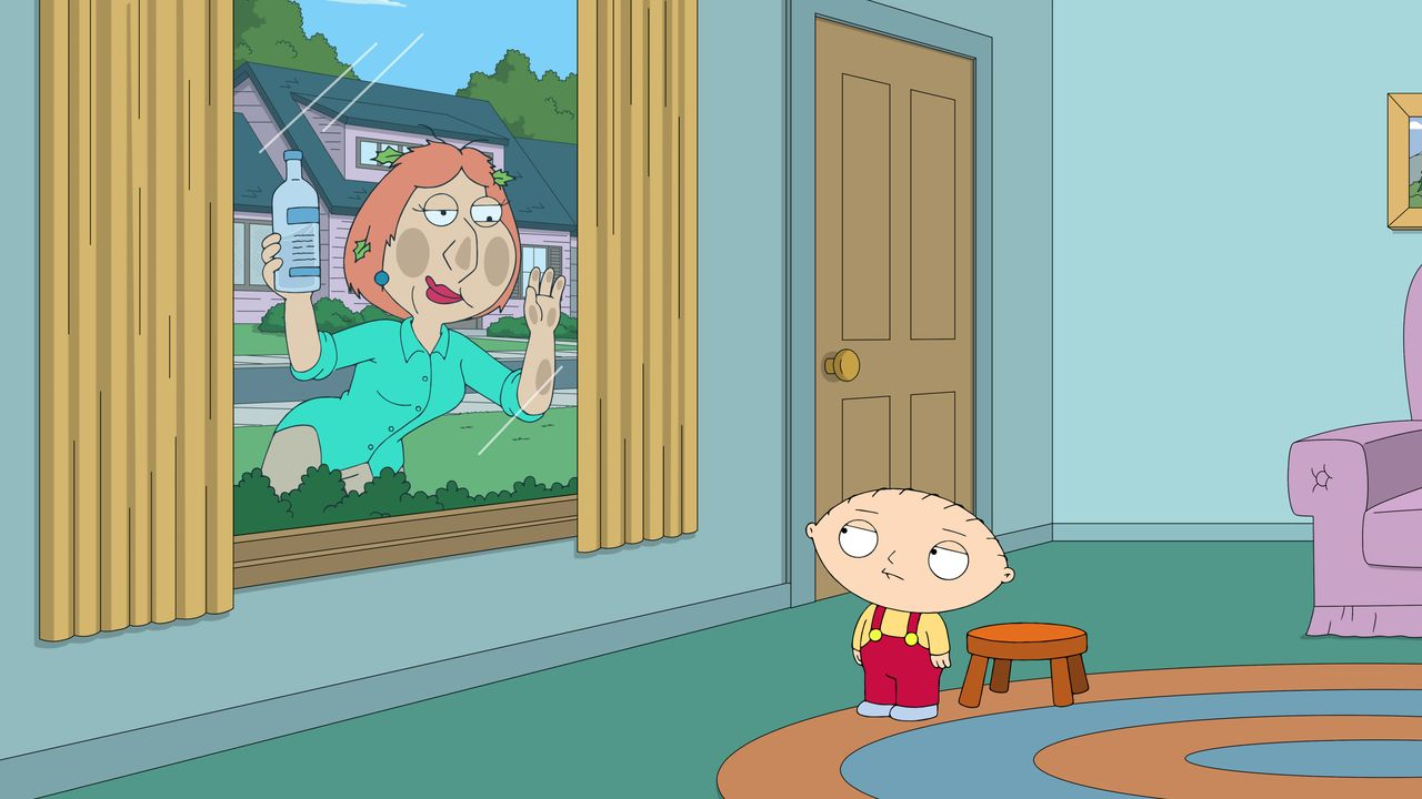 Lois Griffin (l.); Stewie Griffin (r.) - Bildquelle: 2018-2019 Fox and its related entities.  All rights reserved.