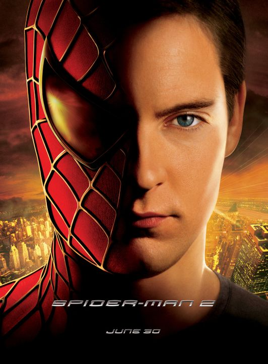 Führt ein aufregendes Doppelleben: Peter Parker alias Spider-Man (Tobey Maguire) ... - Bildquelle: Sony Pictures Television International. All Rights Reserved.