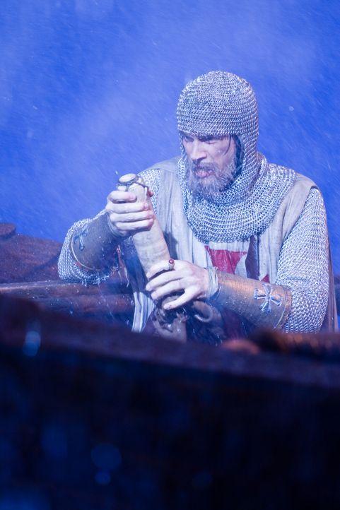 Die Tempelritter fliehen mit ihrem Schatz auf ein Schiff. Doch in einem furchtbaren Sturm verlässt sie endgültig ihr Glück. Ihr Schiff versinkt - un... - Bildquelle: 2008 Templar Productions (Muse) Inc. All Rights Reserved