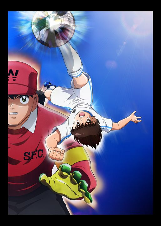 (1. Staffel) - Captain Tsubasa - Artwork - Bildquelle: YOICHI TAKAHASHI/SHUEISHA, 2018 CAPTAIN TSUBASA COMMITTEE