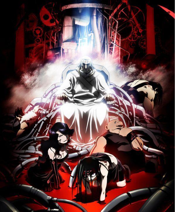 (1. Staffel) - Fullmetal Alchemist: Brotherhood - Artwork - Bildquelle: Hiromu Arakawa/FA Project, MBS