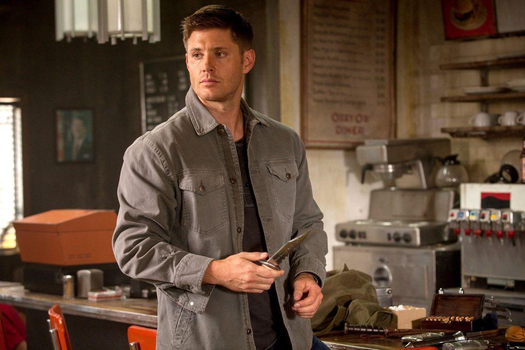 Abaddon träumt davon, die Kontrolle über Deans (Jensen Ackles) Körper zu übernehmen, doch da hat sie die Rechnung ohne die Winchesters gemacht ... - Bildquelle: 2013 Warner Brothers