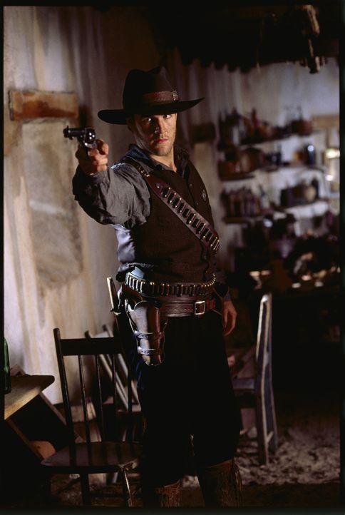 Schließt sich den Texas Rangers an, um die Ermordung seiner Eltern zu rächen: Lincoln Rogers Dunnison (James Van Der Beek) ... - Bildquelle: Kinowelt GmbH