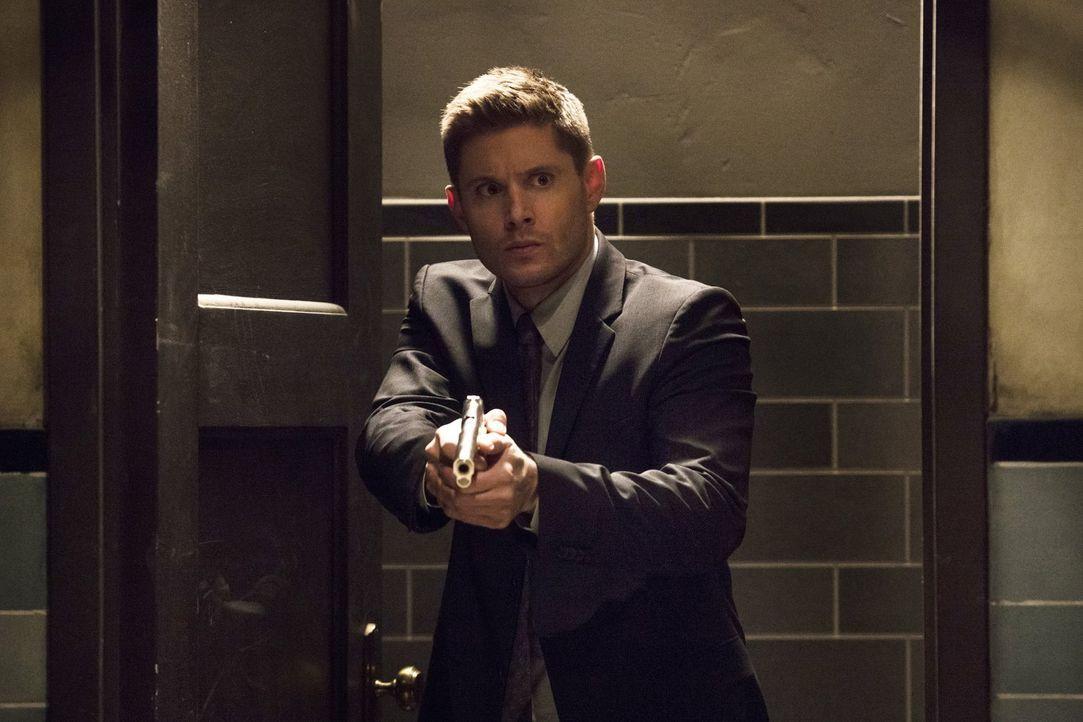 Erkennt Dean (Jensen Ackles) zu spät, dass Lucifer seine Spielchen mit ihm spielt? - Bildquelle: 2014 Warner Brothers