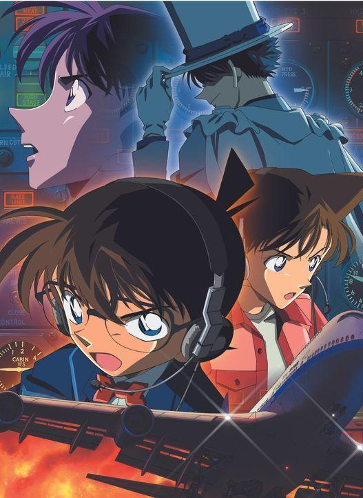 Detective Conan - Der Magier mit den Silberschwingen - Artwork - Bildquelle: 2004 GOSHO AOYAMA / SHOGAKUKAN-YTV-NTV-ShoPro-TOHO-TMS All Rights Reserved