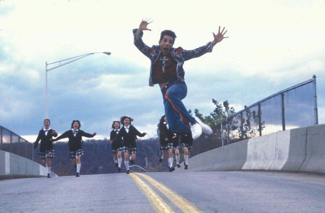 Seit vielen Jahren ist der an Geistesgaben nicht sonderlich gesegnete Dressman Derek Zoolander (Ben Stiller) beruflich sehr erfolgreich. Doch dann v... - Bildquelle: Melinda Sue Gordon TM &  2001 by Paramount Pictures. All Rights Reserved.
