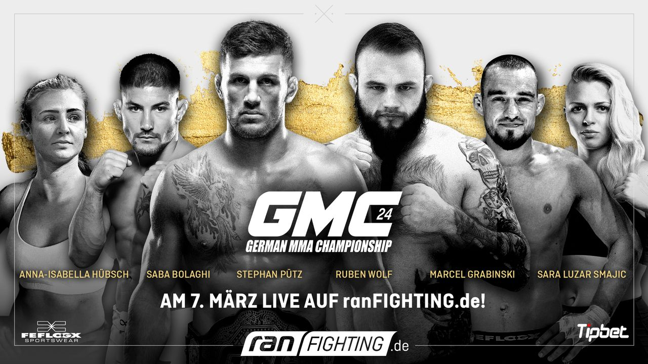 ran Fighting: GMC24 - Plakat - Bildquelle: ProSieben MAXX/Seven Sport