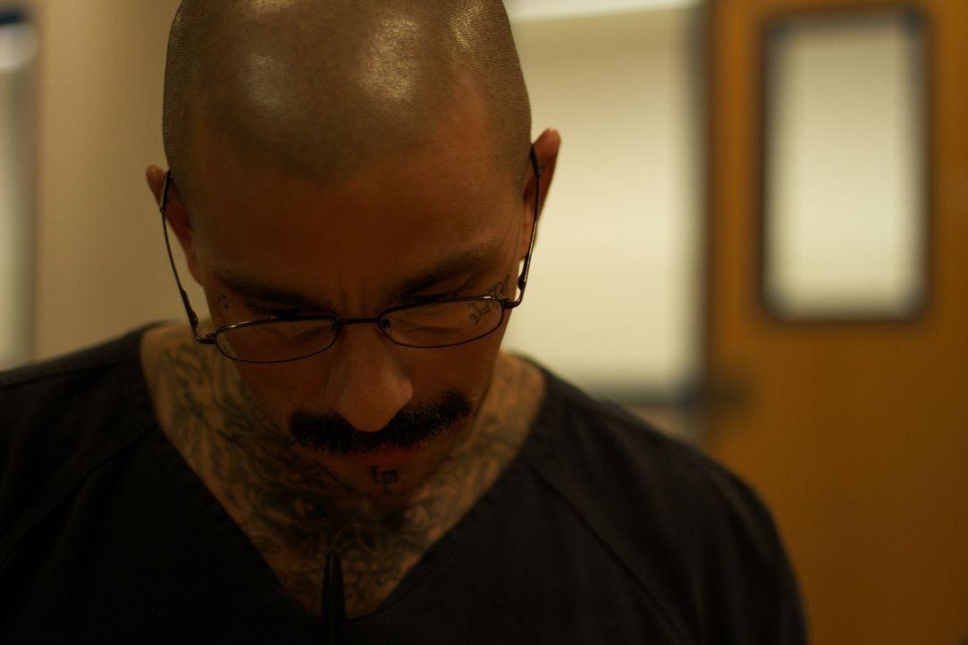 Tattoos gehören für Insassen wie Michael quasi zum guten Ton im Gefängnis ... - Bildquelle: James Peterson National Geographic Channels/ Part2 Pictures