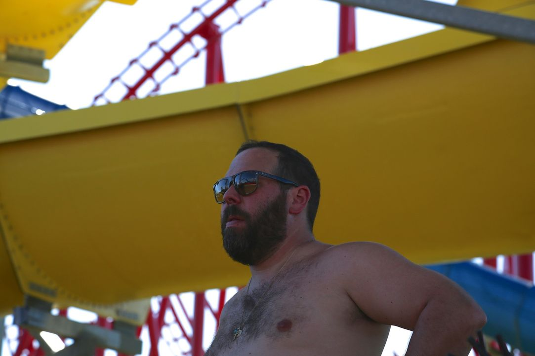 Bert im Freizeitpark Kentucky Kingdom in Kentucky ... - Bildquelle: 2015,The Travel Channel, L.L.C. All Rights Reserved.