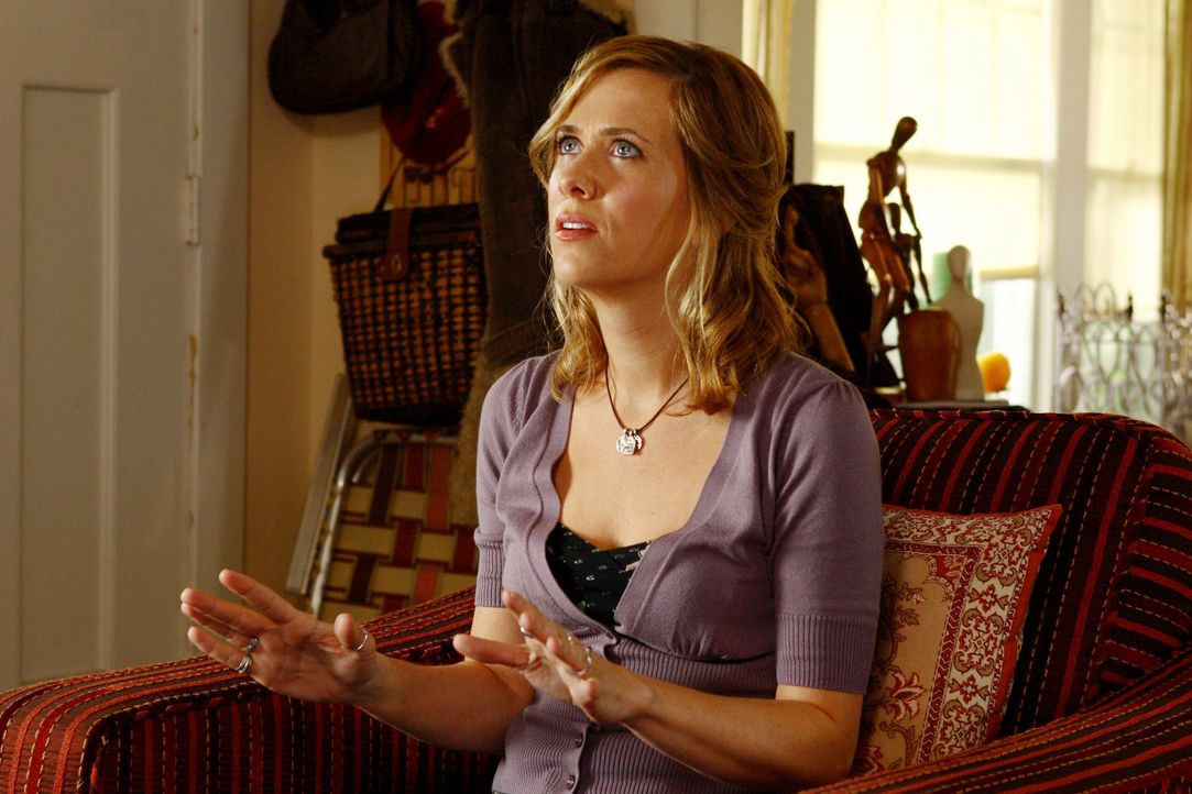 Will für die Solomon Brüder die Leihmutter machen: Janine (Kristen Wiig) ... - Bildquelle: 2007 Revolution Studios Distribution Company, LLC. All Rights Reserved