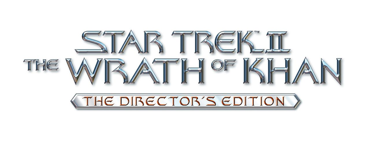 """Star Trek II - The Wrath of Khan"" - Originaltitel Logo - Bildquelle: Paramount Pictures"
