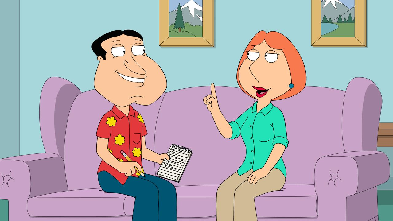 Glenn Quagmire (l.), Lois Griffin (r.) - Bildquelle: 2018-2019 Fox and its related entities. All rights reserved.