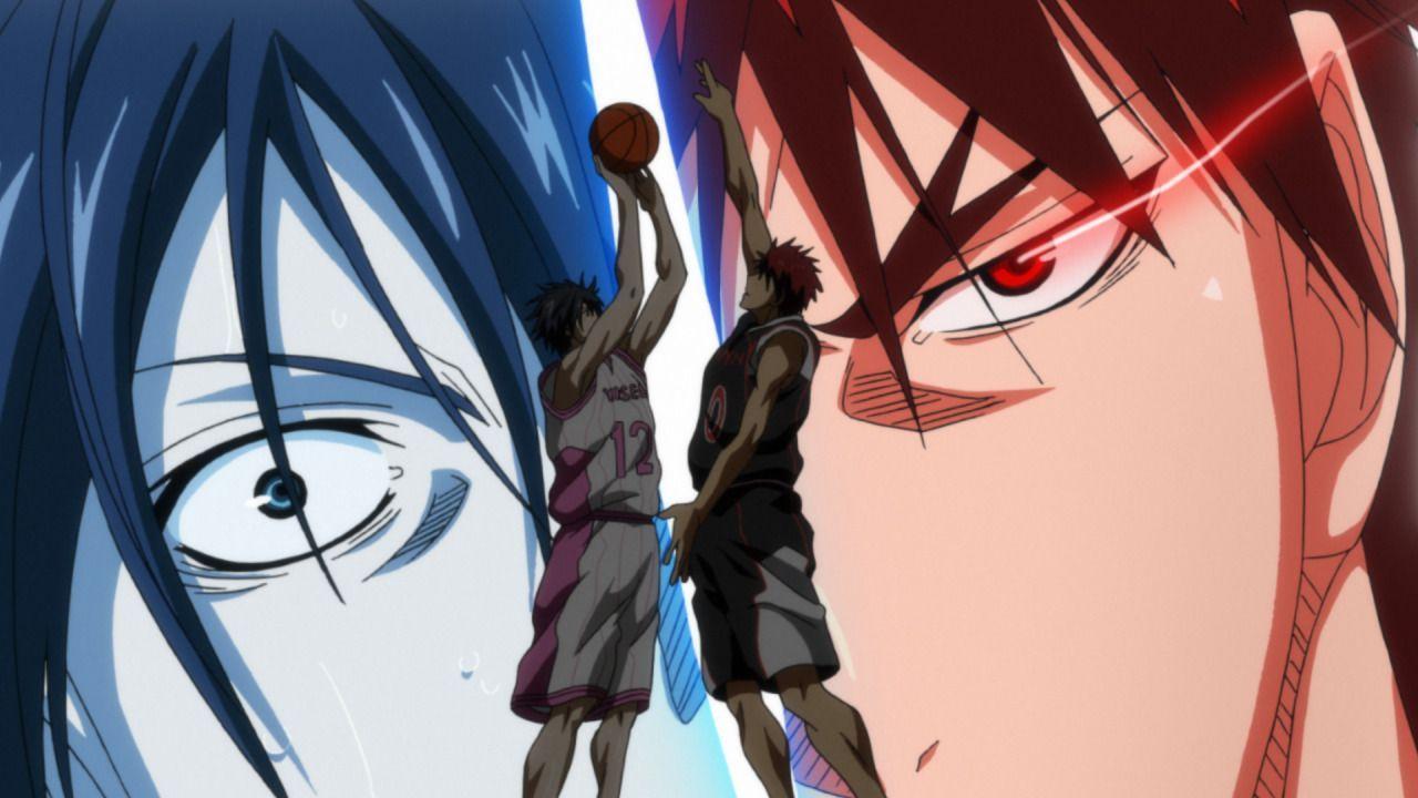 Das Team der Seirin Oberschule versucht, sein Defensivspiel auszubauen, doch... - Bildquelle: Tadatoshi Fujimaki/SHUEISHA, Team Kuroko