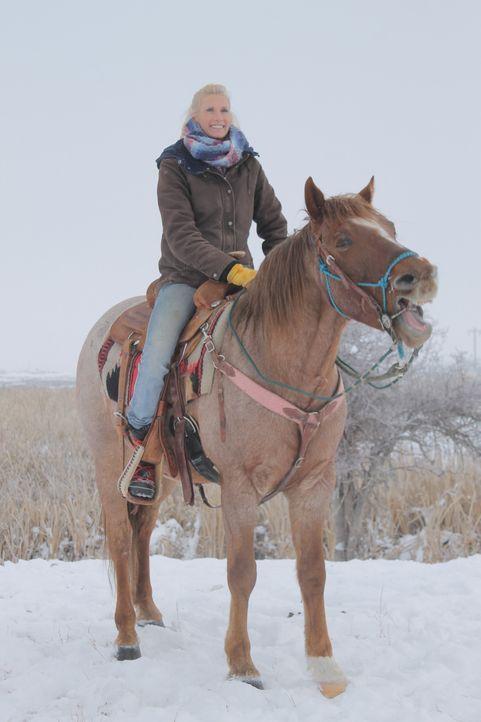 Weit abgelegen von jeglicher Zivilisation möchten sich Jon und Etta (Foto) im Nordwesten von Montana ihren ganz persönlichen Lebenstraum erfüllen: e... - Bildquelle: 2016,DIY Network/Scripps Networks, LLC. All Rights Reserved