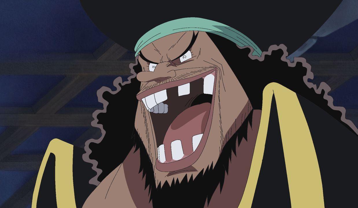 Eine gefährliche Begegnung! Blackbeard und Shiryuu. - Bildquelle: Eiichiro Oda/Shueisha, Toei Animation