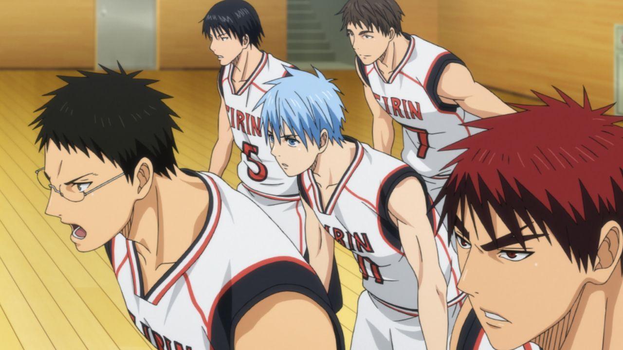 Mit der Josei Oberschule wartet der nächste starke Gegner auf die Basketball... - Bildquelle: Tadatoshi Fujimaki/SHUEISHA,Team Kuroko