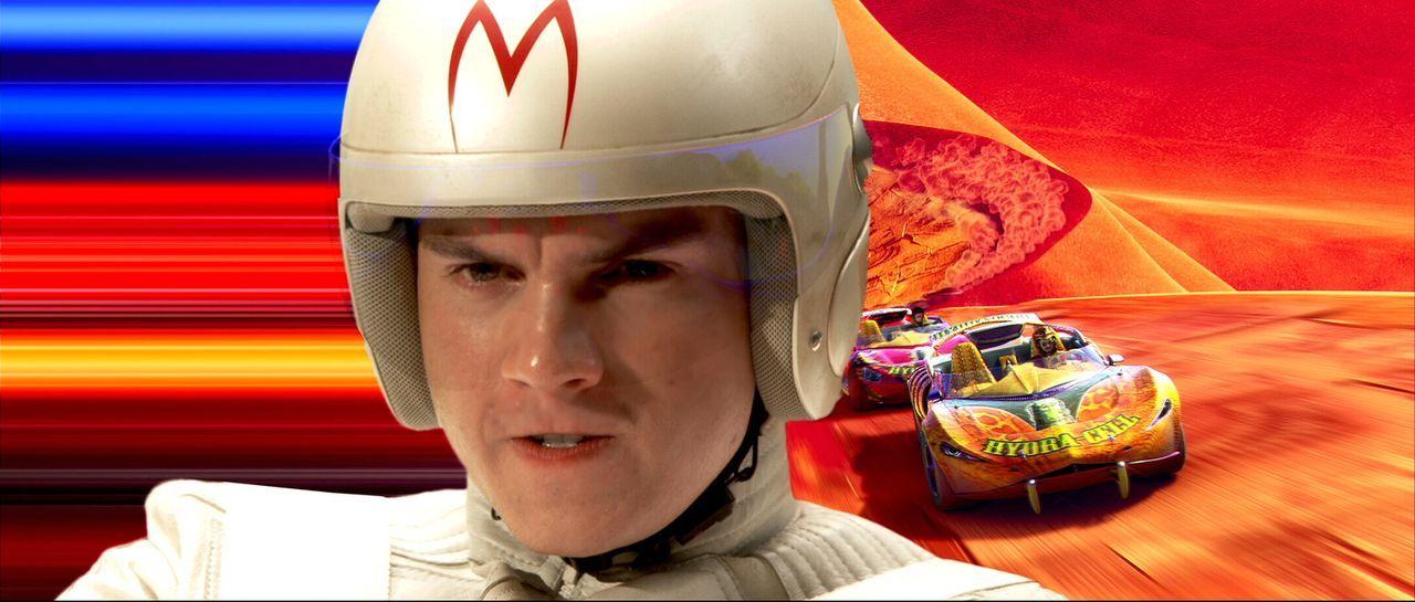Benzin im Blut: Speed Racer (Emile Hirsch) ... - Bildquelle: 2008   Warner Brothers