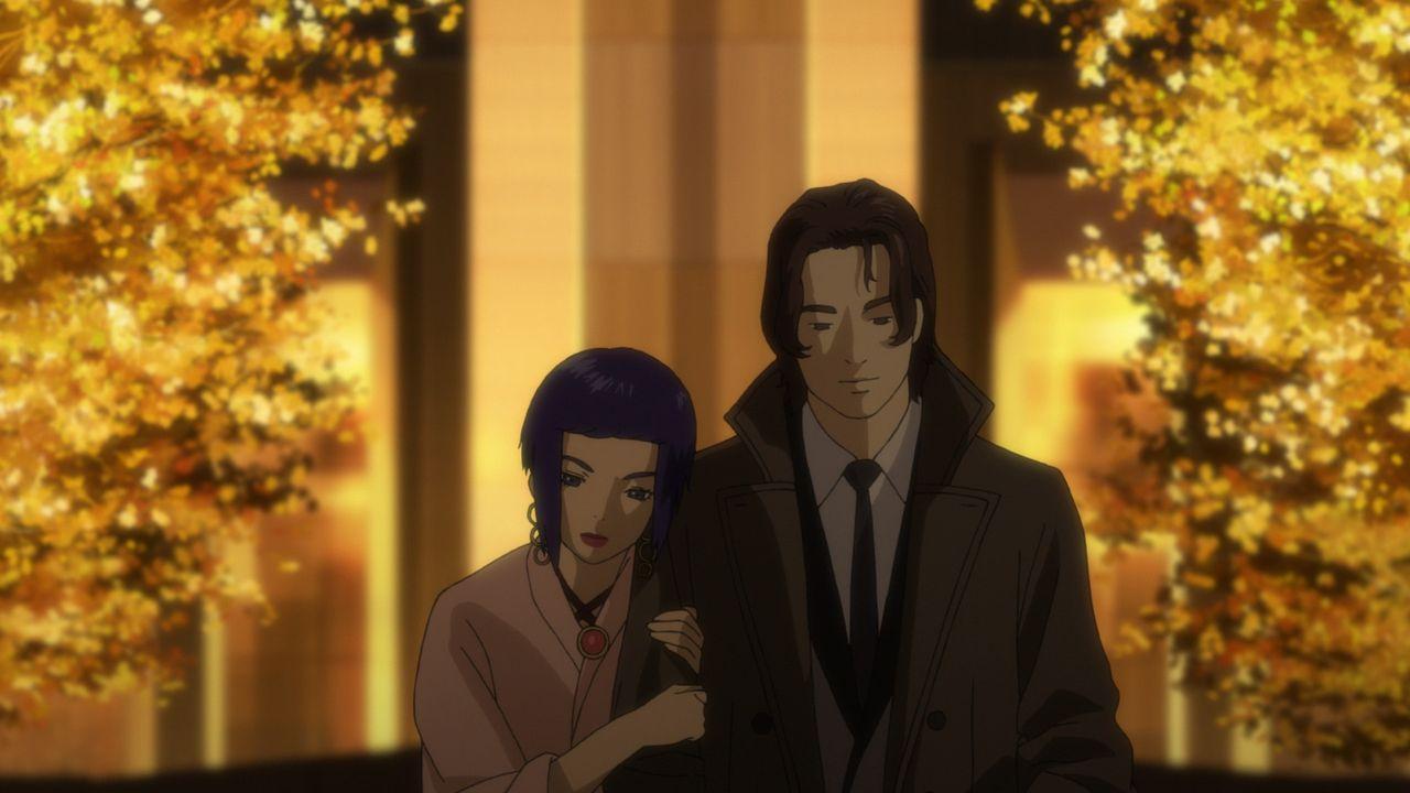 Motoko Kusanagi (l.); Akira Hose (r.) - Bildquelle: Shirow Masamune - Production I.G/KODANSHA - GHOST IN THE SHELL ARISE COMMITTEE. All Rights Reserved.