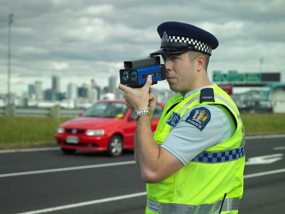 Ein Pudel auf der Autobahn - Bildquelle: Mark Smith Greenstone / Mark Smith