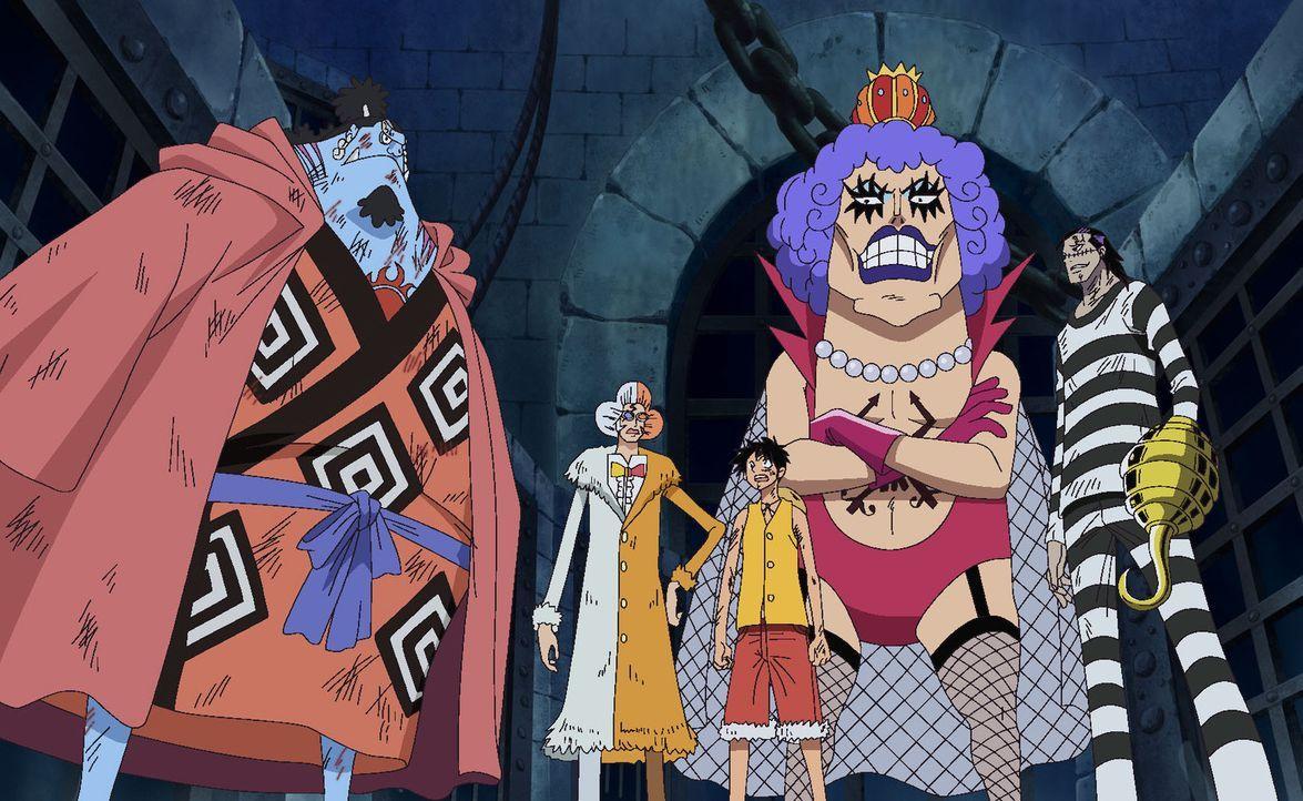 Das stärkste Team ist gebildet! Tumult in Impel Down. - Bildquelle: Eiichiro Oda/Shueisha, Toei Animation