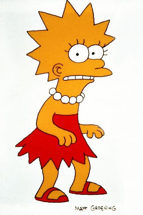 (4. Staffel) - Eindeutig die Cleverste in der Simpson-Familie: Tochter Lisa. - Bildquelle: und TM Twentieth Century Fox Film Corporation - Alle Rechte vorbehalten
