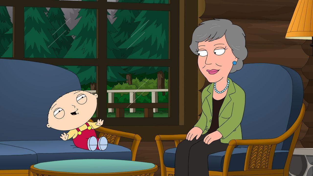Als Stewie (l.) die Musik von Anne Murray (r.) entdeckt, beschließt er, sie zu besuchen ... - Bildquelle: 2013 Twentieth Century Fox Film Corporation. All rights reserved.