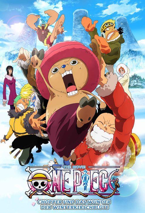 CHOPPER UND DAS WUNDER DER WINTERKIRSCHBLÜTE - Plakat - Bildquelle: Eiichiro Oda/Shueisha, Toei Animation