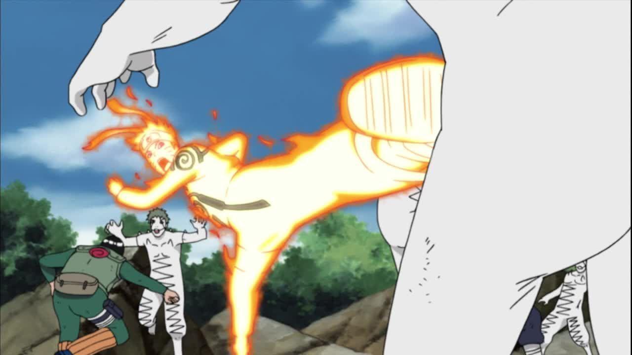 Naruto kämpft an allen Fronten