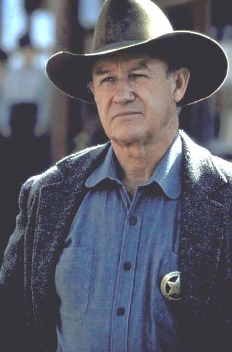 Little Bill Daggett (Gene Hackman) ist ein gewalttätiger und selbstherrlicher Sheriff ... - Bildquelle: Warner Bros.