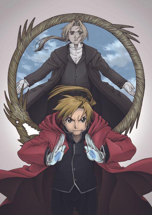 Fullmetal Alchemist - Der Eroberer Vvon Shamballa - Artwork - Bildquelle: Hiromu Arakawa, HAGAREN THE MOVIE