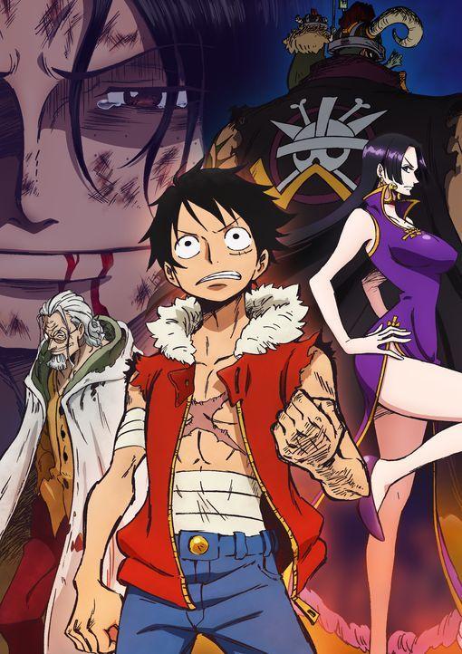 One Piece: 3D2Y - Artwork - Bildquelle: Film   1999 Toei Animation Co., Ltd.