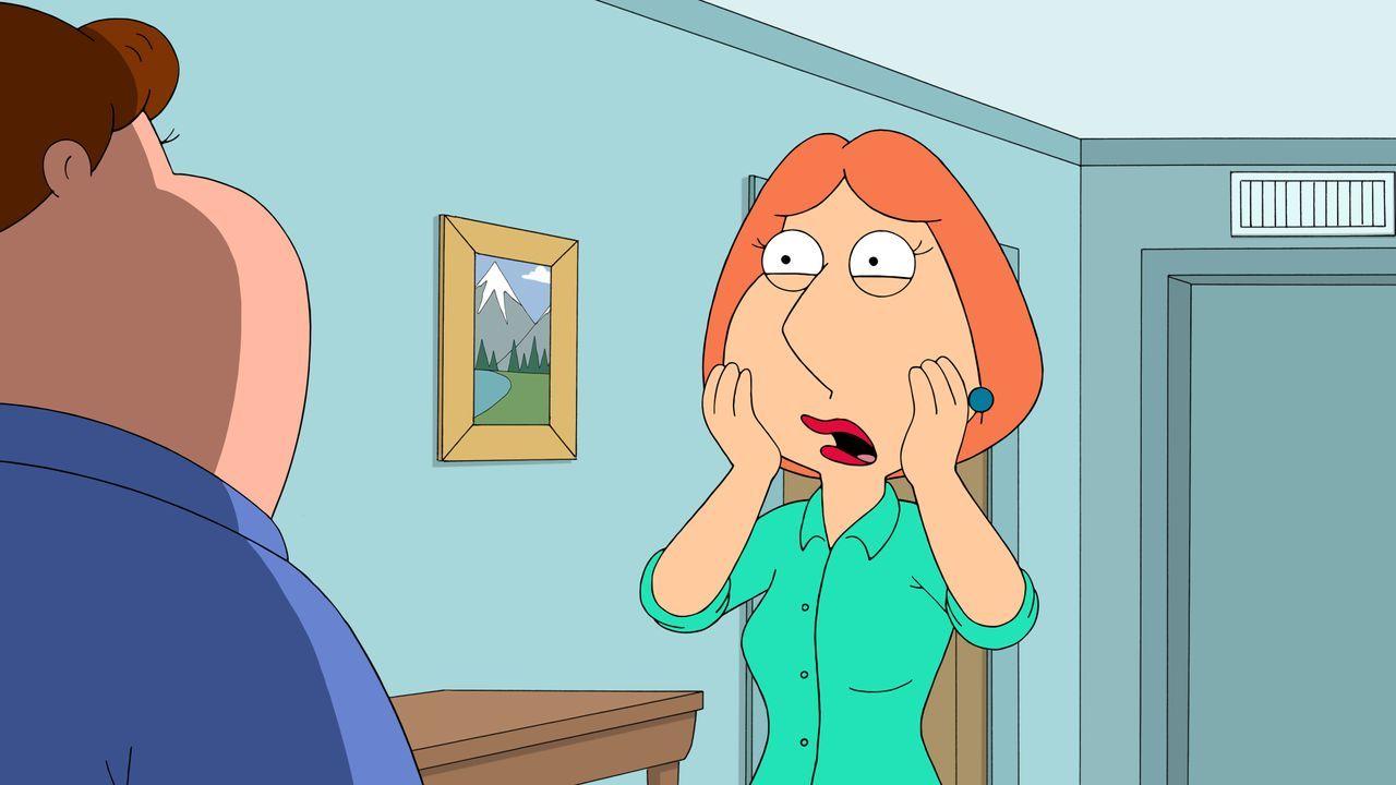 Lois ist schockiert, als plötzlich ein Spenderkind von Peter auf der Matte steht. - Bildquelle: 2016-2017 Fox and its related entities. All rights reserved.