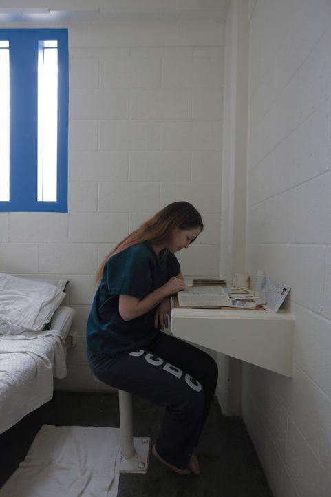 In der medizinischen Wohneinheit des Clark County Detention Centers werden Häftlinge untergebracht, die an psychischen Krankheiten leiden, wie Jamie... - Bildquelle: James Peterson National Geographic Channels