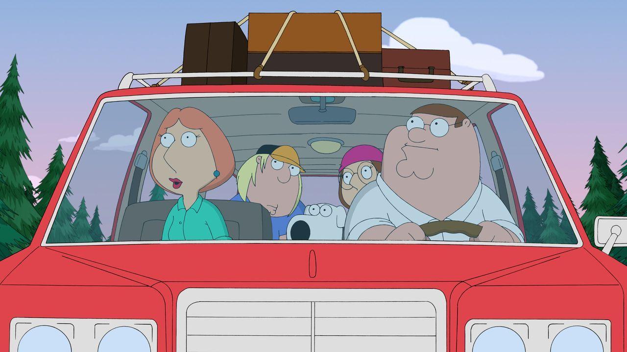 Die Griffins fahren zu einer Party auf einem abgelegenen Landsitz. Sie haben keinen Schimmer, von wem die Einladung stammte, doch wie sie haben fast...