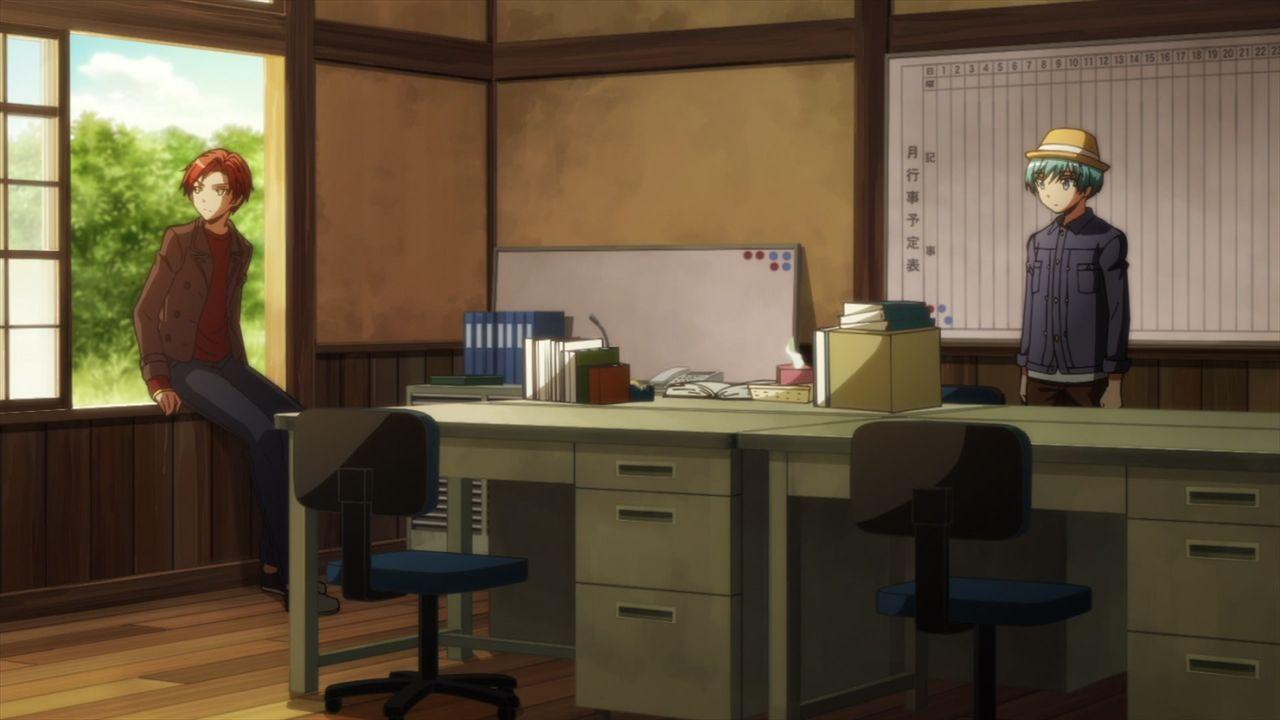 Karma Akabane (l.); Nagisa Shiota (r.) - Bildquelle: Yusei Matsui/SHUEISHA,ASSASSINATION CLASSROOM Committee