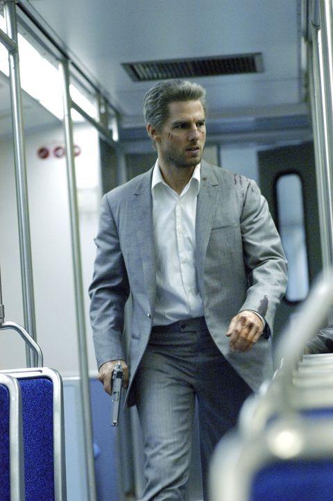 Los Angeles bei Nacht, ein ganz normaler Abend für Taxifahrer Max. Bis Vincent (Tom Cruise) in sein Taxi steigt und ihn für den Rest der Nacht als C... - Bildquelle: TM &   Paramount Pictures. All Rights Reserved.