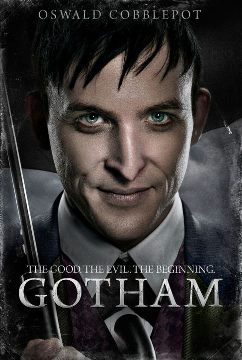 "(1. Staffel) - Verfolgt seine eigene Pläne: der ausgesprochen kluge, aber auch sadistische Gangster Oswald ""Penguin"" Cobblepot (Robin Lord Taylor) .... - Bildquelle: Warner Bros. Entertainment, Inc."