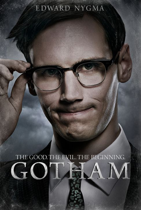 (1. Staffel) - Ein brillanter Wissenschaftler der Gerichtsmedizin des Gotham Police Departments: Edward Nygma (Cory Michael Smith) ... - Bildquelle: Warner Bros. Entertainment, Inc.