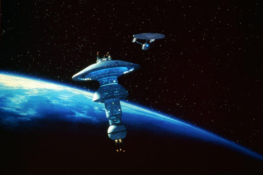 """Die """"Enterprise"""" bricht auf zu den Friedensverhandlungen mit den Klingonen. - Bildquelle: Paramount Pictures"""