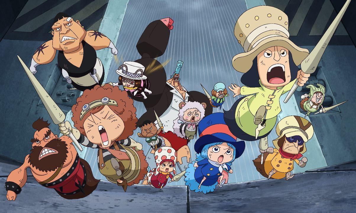 Tontatta-Zwerge - Bildquelle: Eiichiro Oda/Shueisha, Toei Animation