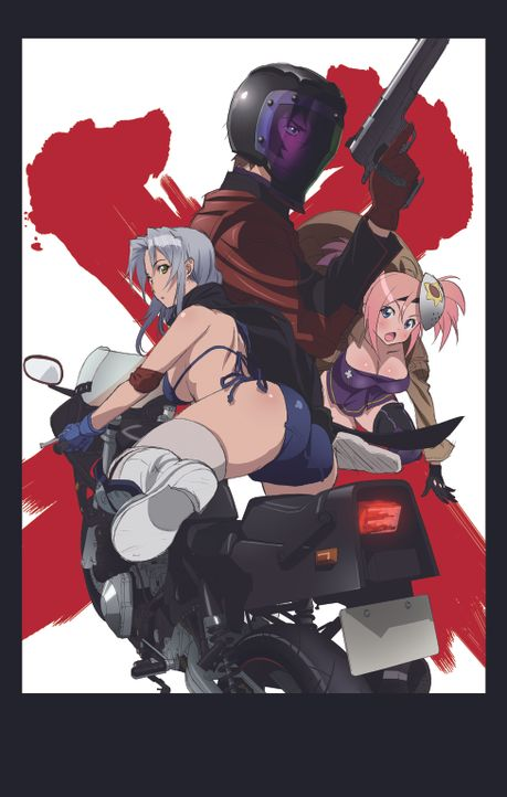 TRIAGE X - Artwork - Bildquelle: 2015 Shouji Sato/KADOKAWA Fujimishobo/TRIAGEX Partners