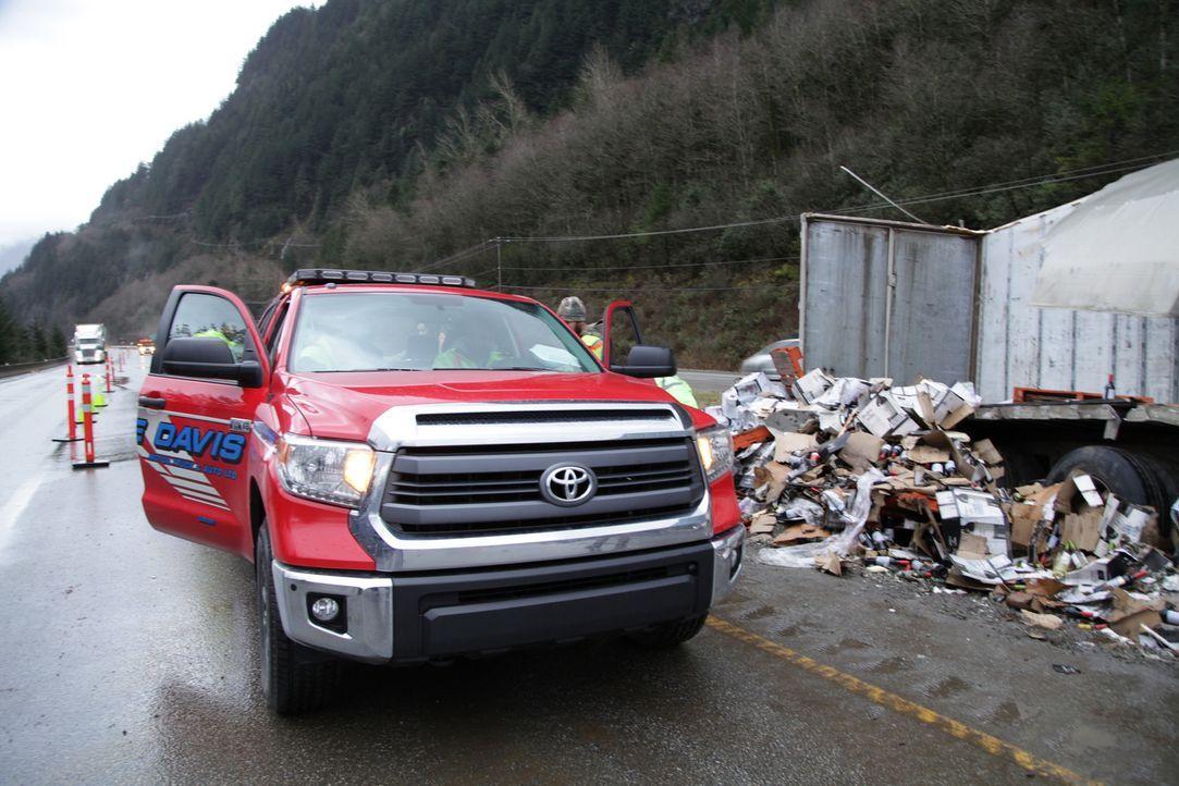 (3. Staffel) - Der Coquihalla Highway in Kanada gehört zu den gefährlichsten Schnellstraßen der Welt und wird gerne unterschätzt. Wenn hier Lkws bei... - Bildquelle: Beyond Distribution