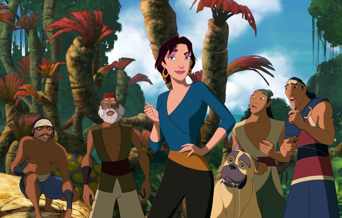 Die wunderschöne Marina schleicht sich als blinder Passagier auf Sinbads Schiff. Sie will dafür sorgen, dass Sinbad seine Mission erfüllt und damit... - Bildquelle: DreamWorks SKG