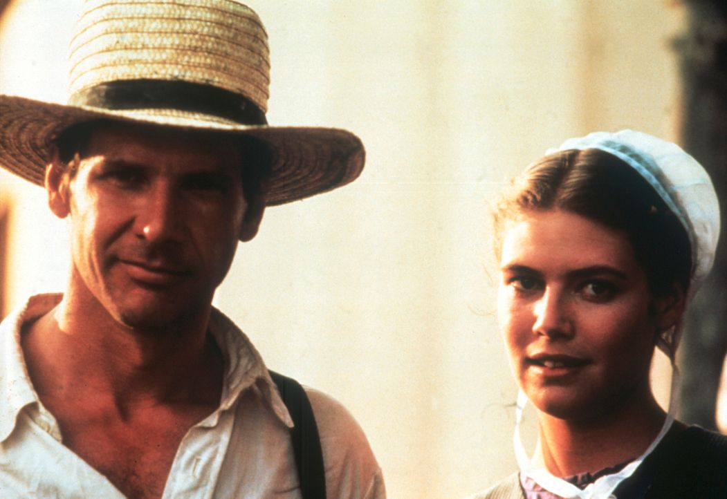 Bei der Aufklärung eines Mordes kommen sich der Cop John Book (Harrison Ford, l.) und Rachel (Kelly McGillis, r.), die Mutter des einzigen Zeugen, i... - Bildquelle: Paramount Pictures